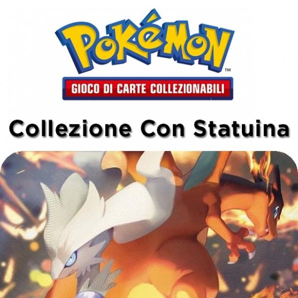 Reshiram & Charizard - Collezione Con Statuina (ITA) Collezioni