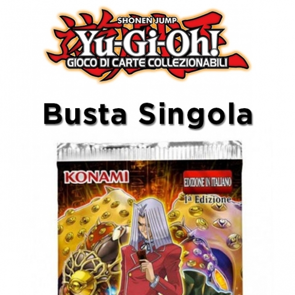 Duellanti Leggendari Antico Millennio - Busta 5 Carte (ITA - 1a Edizione) Bustine Singole Yu-Gi-Oh!