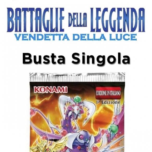 Battaglie della Leggenda Vendetta della Luce - Busta 5 Carte (ITA -1a Edizione) Bustine Singole