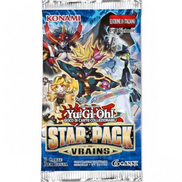 Star Pack Vrains - Busta 3 Carte (ITA - 1a Edizione) Bustine Singole Yu-Gi-Oh!