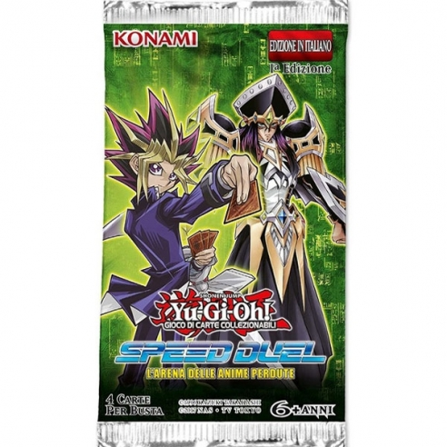 Speed Duel L'Arena delle Anime Perdute - Busta 4 Carte (ITA) Bustine Singole