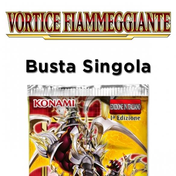 Vortice Fiammeggiante - Busta da 9 carte (ITA) Bustine Singole