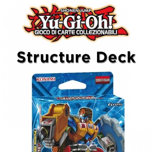 Furia Ingranaggian - Structure Deck (ITA - Unlimited) Structure Deck