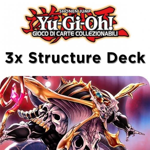 Orda Zombie - 3x Structure Deck (Bundle) (ITA - 1a Edizione) Structure Deck