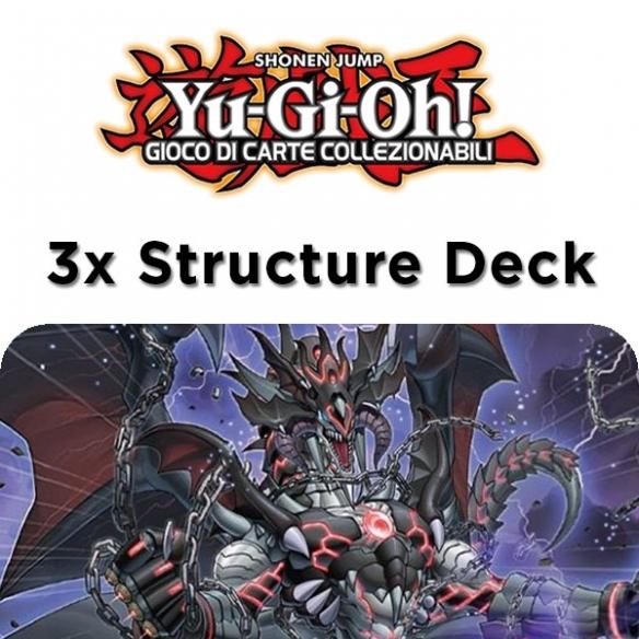 Tana Dell'Oscurità - 3x Structure Deck (Bundle) (ITA - 1a Edizione) Structure Deck