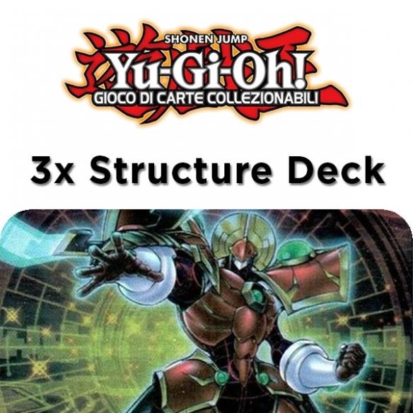 Link Potencodificatore - 3x Structure Deck (Bundle) (ITA - 1a Edizione) Structure Deck