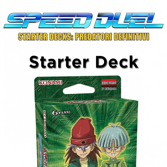 Predatori Definitivi - Starter Deck (ITA - 1a Edizione) Structure Deck