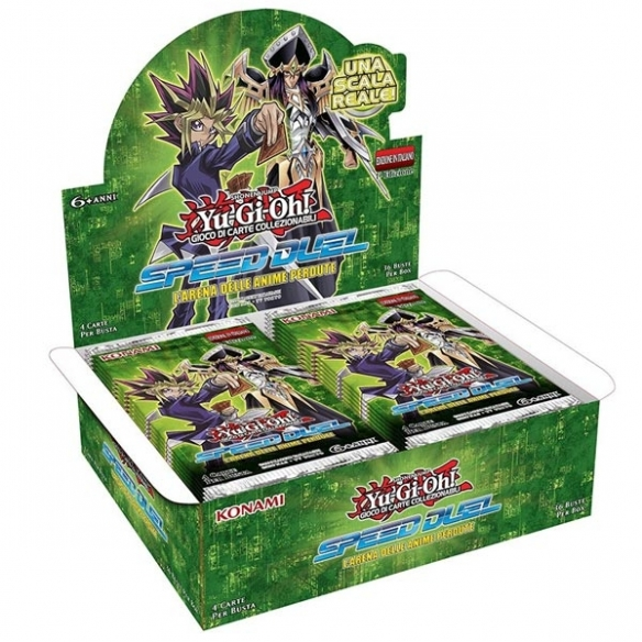 Speed Duel L'Arena delle Anime Perdute - Display 36 Buste (ITA) Box di Espansione