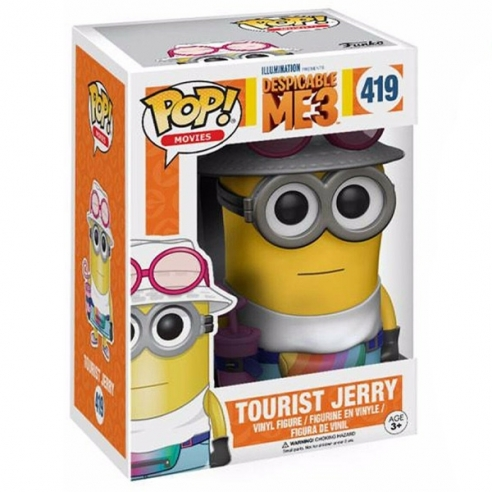 Funko Pop Movies 419 - Tourist Jerry - Despicable Me 3 (Exclusive) Funko