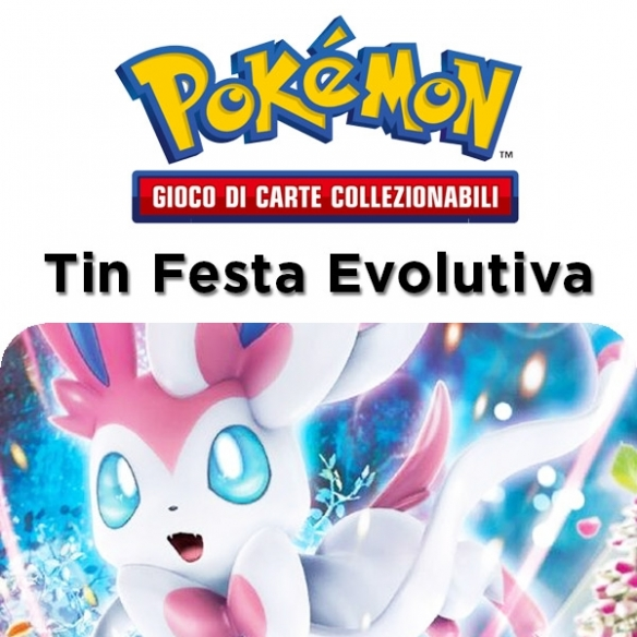 Festa Evolutiva - Sylveon Gx - Tin + Penna Fantàsia (ITA) Tin