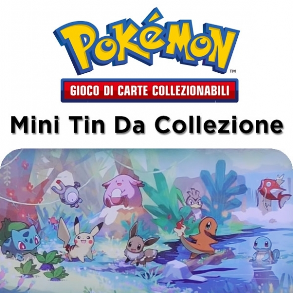 Amici di Kanto - Pikachu - Mini Tin Da Collezione + Penna Fantàsia (ITA) Tin