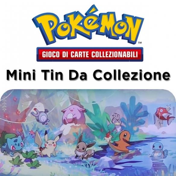 Amici di Kanto - Eevee - Mini Tin Da Collezione + Penna Fantàsia (ITA) Tin