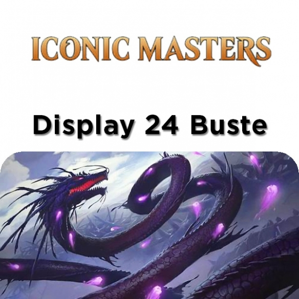 Iconic Masters - Display 24 Buste (ENG) Box di Espansione