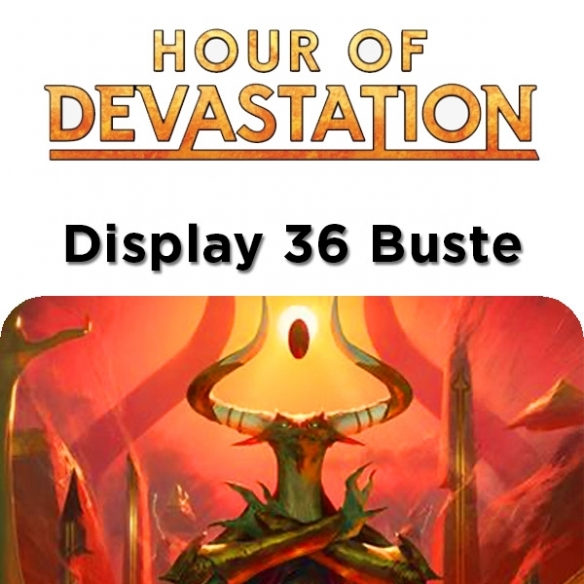 Hour of Devastation - Display 36 Buste (ENG) Box di Espansione