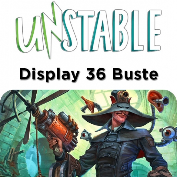 Unstable Booster - Display 36 Buste (ENG) Box di Espansione
