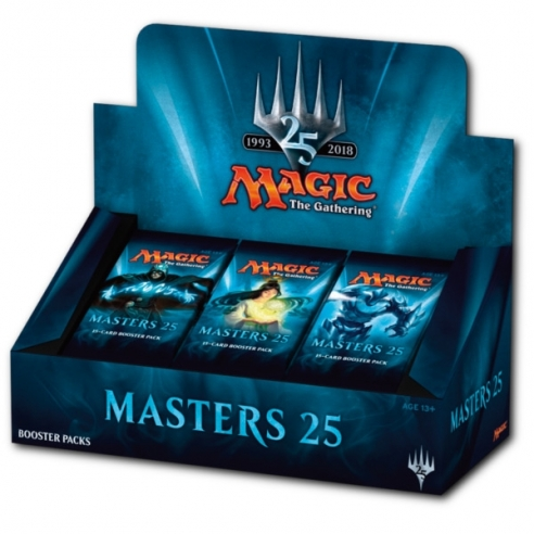 Masters 25 - Display 24 Buste (ENG) Box di Espansione