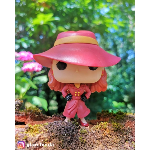 Funko Pop Television 662 - Carmen Sandiego - Where in the World is Carmen Sandiego? Funko