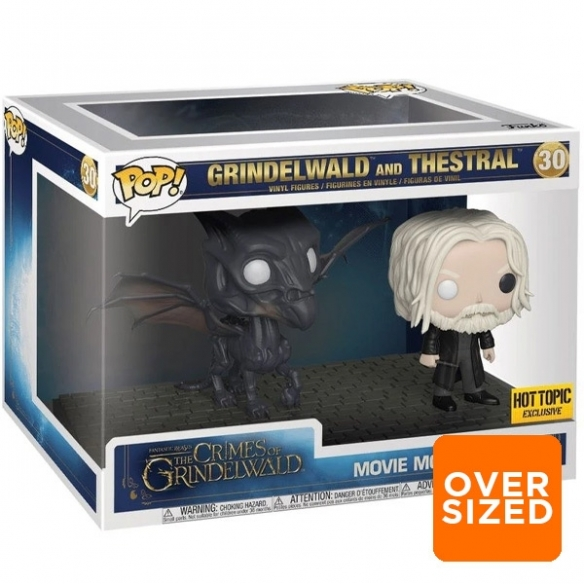 Funko Pop Movie Moments 30 - Grindelwald and Thestral - Fantastic Beasts the Crimes of Grindelwald (Oversized) Funko