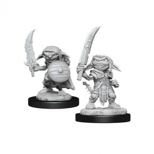 Deep Cuts Miniatures - Goblin Male Fighter Miniature