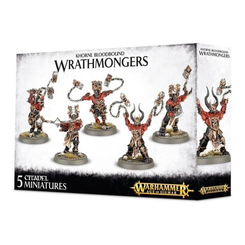 Khorne Bloodbound - Wrathmongers Blades of Khorne