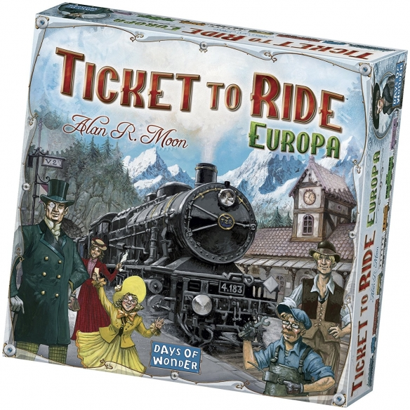 ASTERION - TICKET TO RIDE EUROPA -ITALIANO Asterion 44,90€