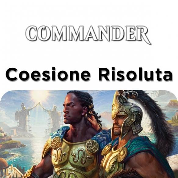 Commander 2016 - Coesione Risoluta (ITA) Mazzi Precostruiti