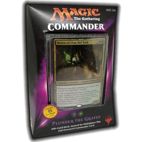 Commander 2015 - Plunder the Graves (ENG) Mazzi Precostruiti