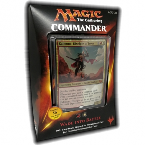 Commander 2015 - Wade into Battle (ENG) Mazzi Precostruiti