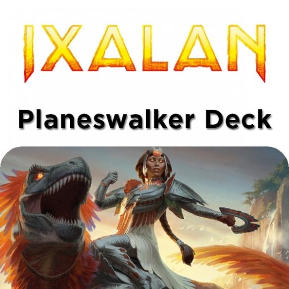 Ixalan - Huatli Cavaliera Di Dinosauri - Planeswalker Deck + Penna Fantàsia (ITA) Mazzi Precostruiti