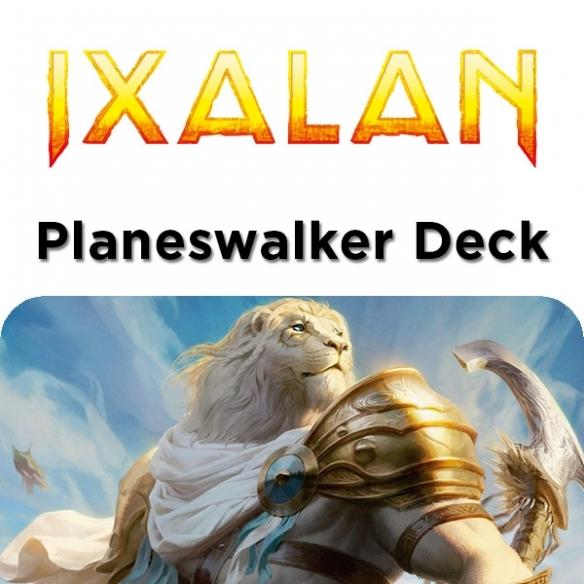 Ixalan - Ajani Protettore Impavido - Planeswalker Deck + Penna Fantàsia (ITA) Mazzi Precostruiti