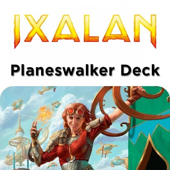 Ixalan - Chandra Pirogenio - Planeswalker Deck + Penna Fantàsia (ITA) Mazzi Precostruiti