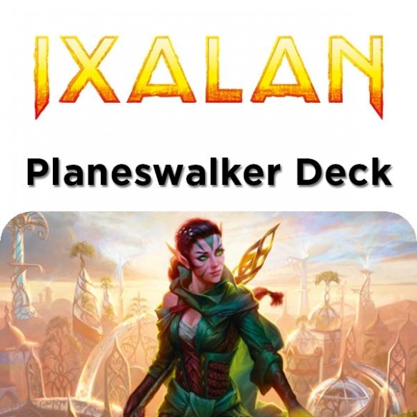 Ixalan - Nissa Artigiana Della Natura - Planeswalker Deck + Penna Fantàsia (ITA) Mazzi Precostruiti