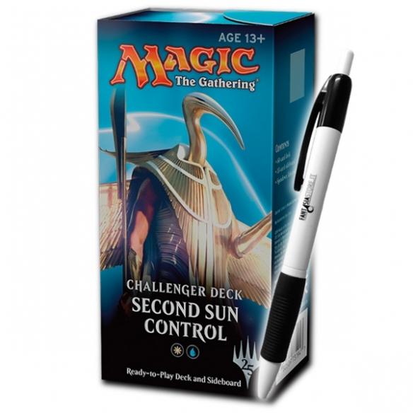 Challenger Deck - Second Sun Control + Penna Fantàsia (ENG) Mazzi Precostruiti