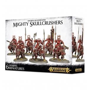 Khorne Bloodbound Mighty Skullcrushers Warhammer Age of Sigmar 78,00€