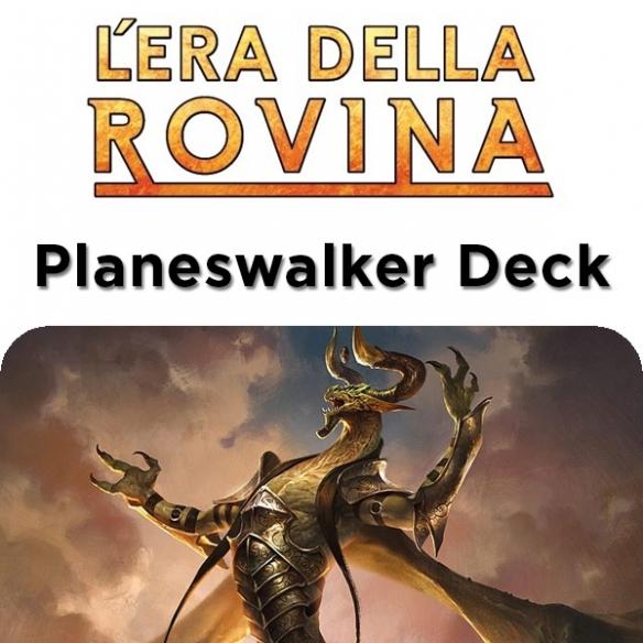 Hour of Devastation - Nicol Bolas l'ingannatore - Planeswalker Deck + Penna Fantàsia (ITA) Mazzi Precostruiti