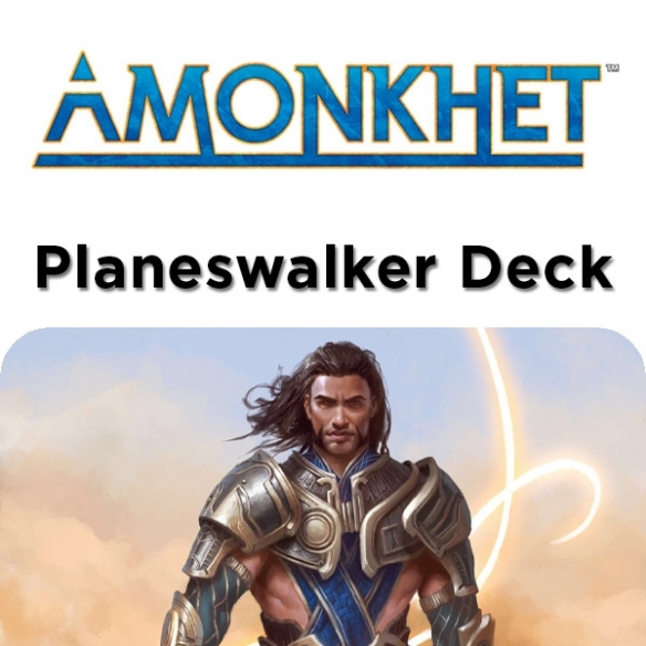 Amonkhet - Gideon Paradigma Marziale - Planeswalker Deck + Penna Fantàsia (ITA) Mazzi Precostruiti