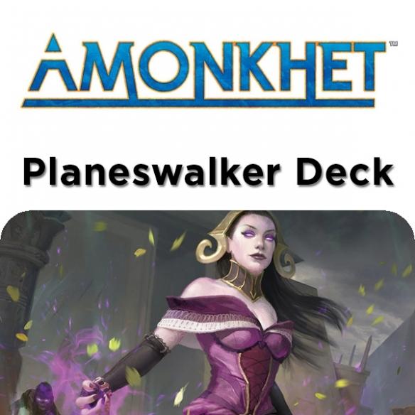 Amonkhet - Liliana Manipolatrice Di Morte - Planeswalker Deck + Penna Fantàsia (ITA) Mazzi Precostruiti