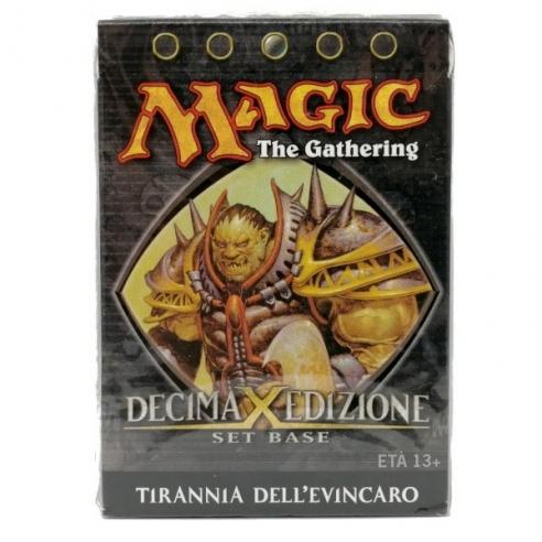 Tenth Edition - Tirannia Dell'evincaro - Mazzo Tematico (ITA) Mazzi Precostruiti