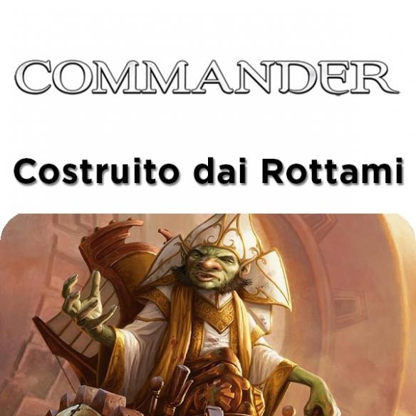 Commander 2014 - Costruito dai Rottami (ITA) Mazzi Precostruiti