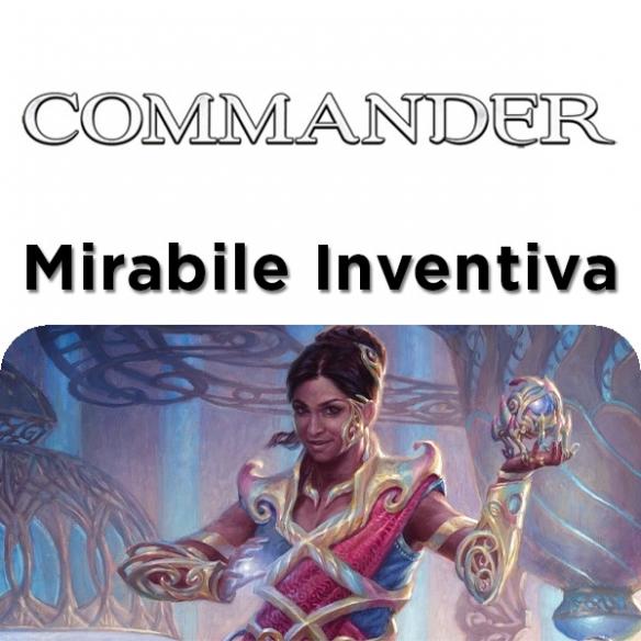Commander 2018 - Mirabile Inventiva + Penna Fantàsia (ENG) Mazzi Precostruiti