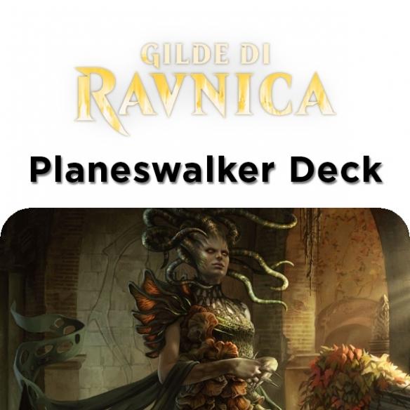 Guilds of Ravnica - Vraska - Planeswalker Deck + Penna Fantàsia (ITA) Mazzi Precostruiti