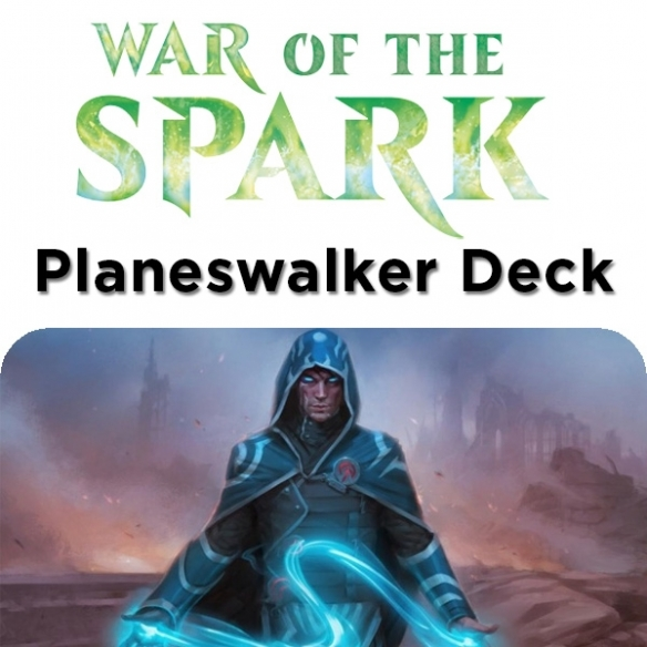 War of the Spark - Jace - Planeswalker Deck + Penna Fantàsia (ENG) Mazzi Precostruiti