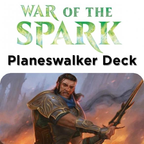 War Of The Spark - Gideon - Planeswalker Deck + Penna Fantàsia (ENG) Mazzi Precostruiti