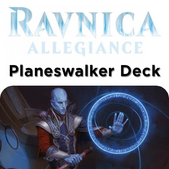 Ravnica Allegiance - Dovin Architect Of Law - Planeswalker Deck + Penna Fantàsia (ENG) Mazzi Precostruiti