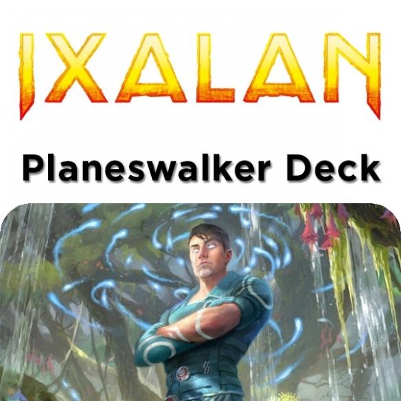 Ixalan - Jace Ingenious Mind-Mage - Planeswalker Deck + Penna Fantàsia (ENG) Mazzi Precostruiti