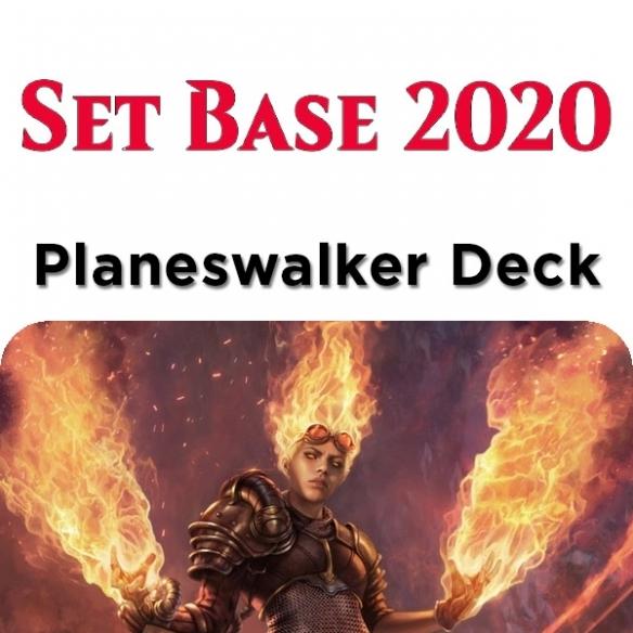 Core Set 2020 - Chandra - Planeswalker Deck + Penna Fantàsia (ITA) Mazzi Precostruiti