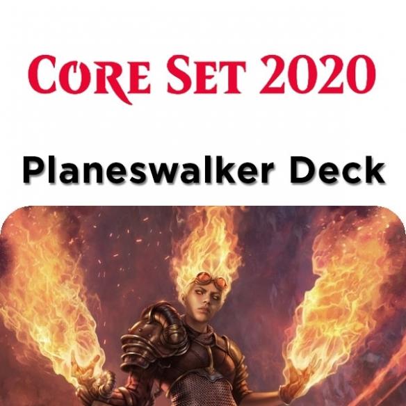 Core Set 2020 - Chandra - Planeswalker Deck + Penna Fantàsia (ENG) Mazzi Precostruiti