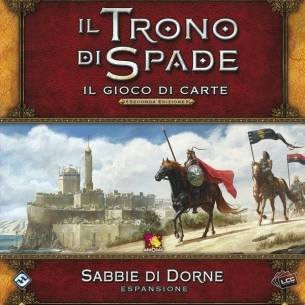 ASMODEE - IL TRONO DI SPADE IL GIOCO DI CARTE SABBIE DI DORNE - ITALIANO Asmodee 29,90€