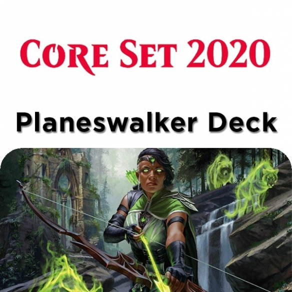 Core Set 2020 - Vivien - Planeswalker Deck + Penna Fantàsia (ENG) Mazzi Precostruiti