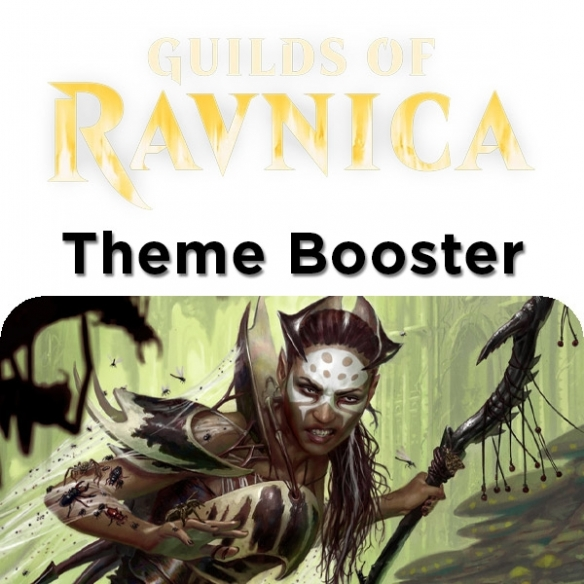 Guilds of Ravnica - Golgari - Theme Booster + Penna Fantàsia (ENG) Edizioni Speciali